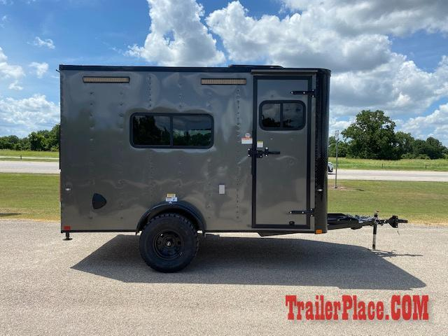 2020 Cargo Craft 7x12 Off Road Enclosed Trailer