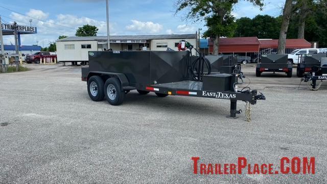 2022 East Texas 990 Gal Diesel Tank Trailer