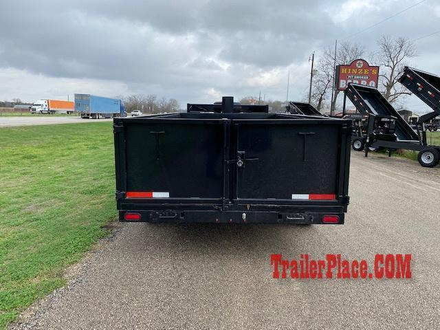 2021 Texas Pride 7 x 14 Gooseneck Dump Trailer