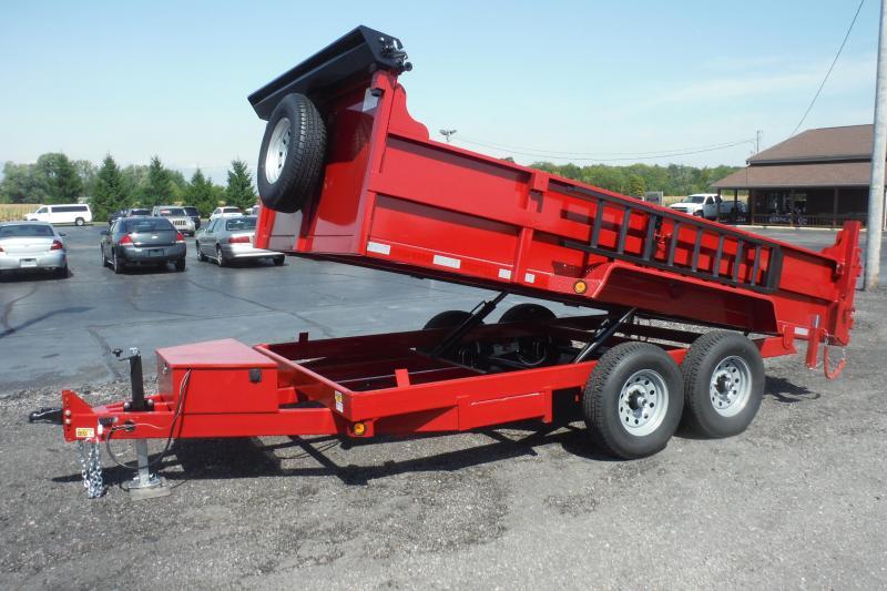 2021 Quality Steel and Aluminum 14000LB DUMP Dump Trailer