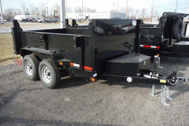2021 Quality Steel and Aluminum 10 FT DUMP Dump Trailer