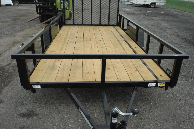 2022 Quality Steel and Aluminum LANDSCAPE 14 FT Utility Trailer