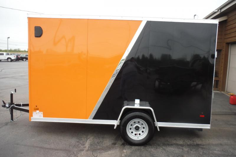 2021 US Cargo 6 x 12 SLANT NOSE FLAT TOP Enclosed Cargo Trailer
