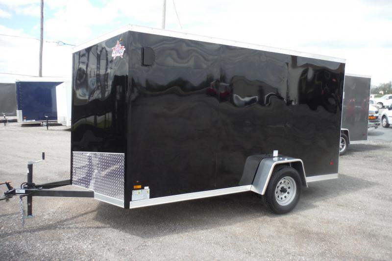 2020 US Cargo 6 x 12 SLANT V NOSE Enclosed Cargo Trailer