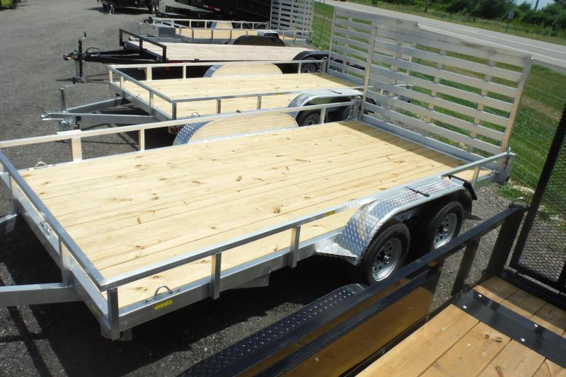 2021 Quality Steel and Aluminum 82X14 LANDSCAPE Utility Trailer