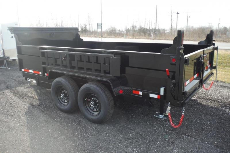 2021 Quality Steel and Aluminum 14 FT DUMP 14K AXLES Dump Trailer