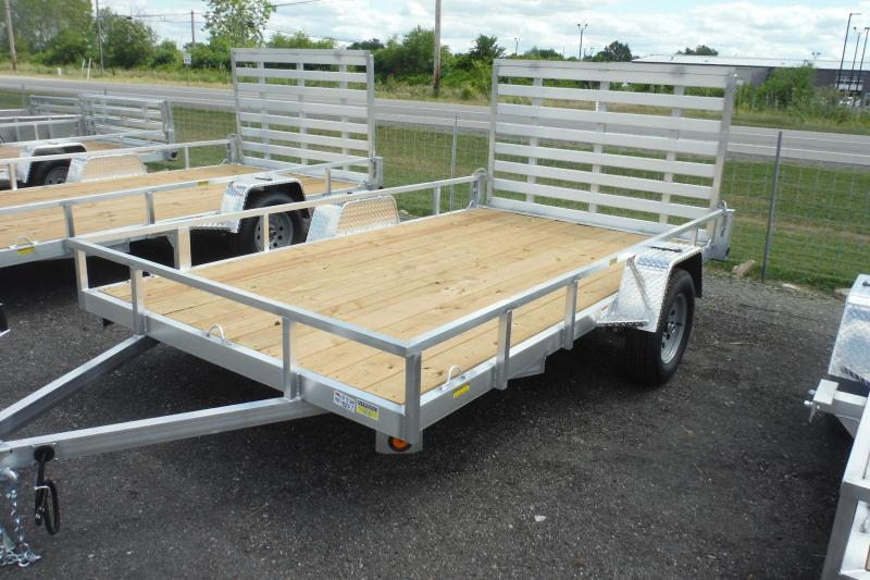 2021 Quality Steel and Aluminum 82X12 ALUMINUM Utility Trailer