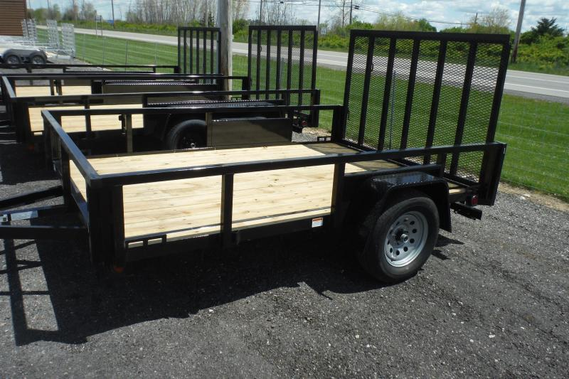 2022 Quality Steel and Aluminum 82X10 LANDSCAPE Utility Trailer