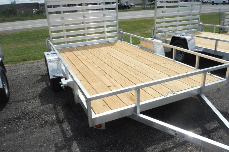 2021 Quality Steel and Aluminum 82X14 ALUMINUM Utility Trailer