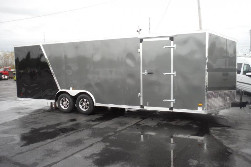 2021 US Cargo 8.5 x 24 SLANT NOSE CAR HAULER Car / Racing Trailer