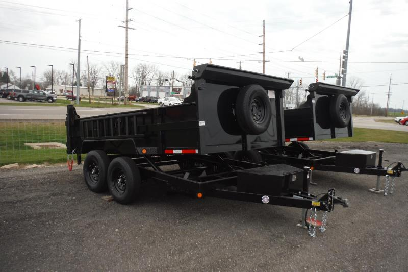 2022 Quality Steel and Aluminum 12 FT DUMP 12K AXLES Dump Trailer