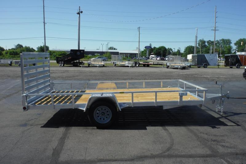 2021 Quality Steel and Aluminum 82 X 14 ALUMINUM Utility Trailer