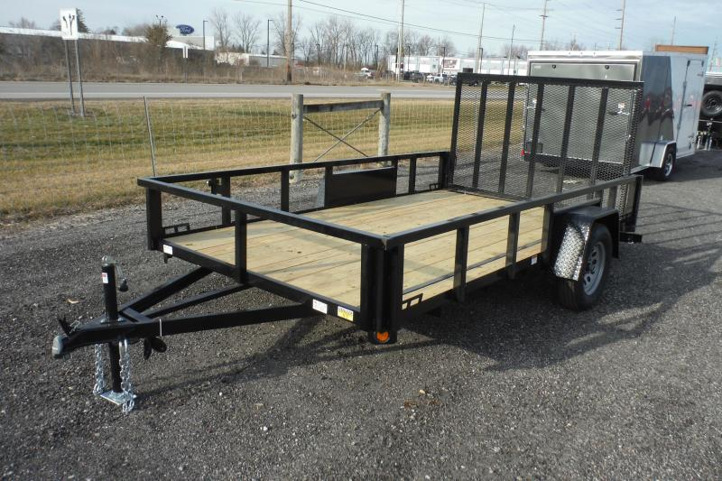 2021 Quality Steel and Aluminum 12 FT LANDSCAPE Utility Trailer