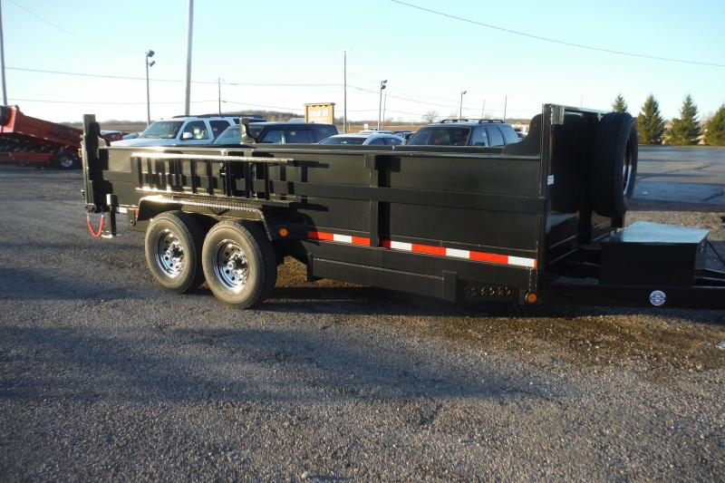 2021 Quality Steel and Aluminum 16 FT DUMP LP Dump Trailer