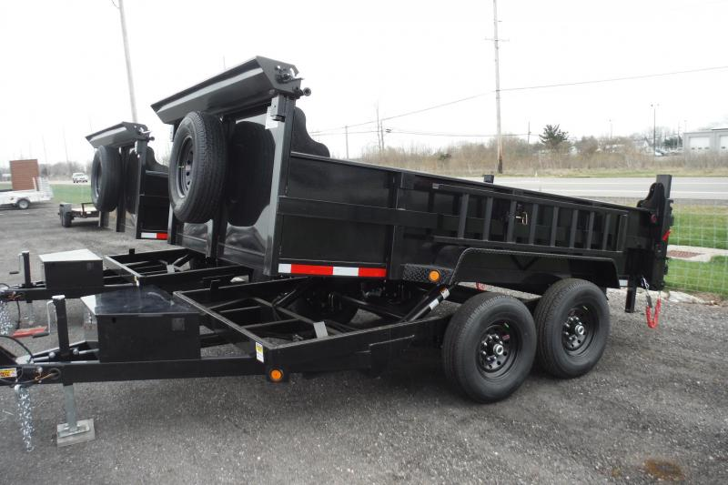 2022 Quality Steel and Aluminum 14 FT DUMP 14K AXLES Dump Trailer