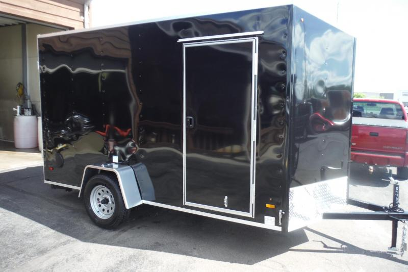 2021 US Cargo 6 X 12 V NOSE Enclosed Cargo Trailer