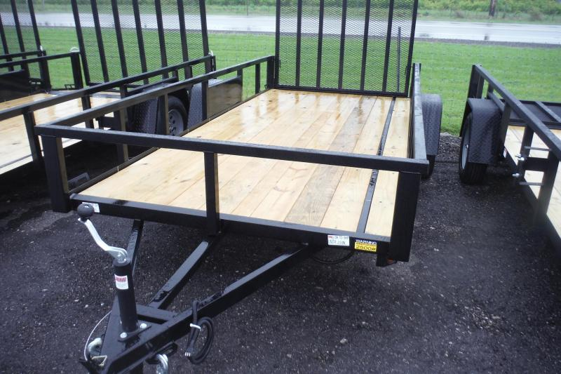2021 Quality Steel and Aluminum 82 X 14 LANDSCAPE  Utility Trailer