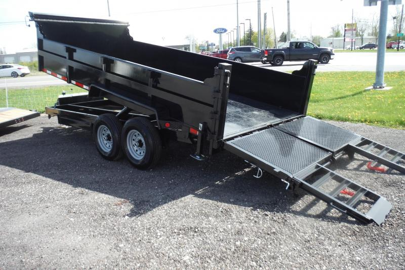 2020 Quality Steel and Aluminum 83 X 16 DUMP 14000LBS Dump Trailer