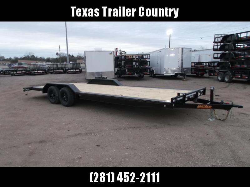 2021 Maxxd 102x24 10K H5X Car Hauler / Flatbed Trailer / Equipment Hauler / Powder Coated / 5200# Axles / Drive Over Fenders