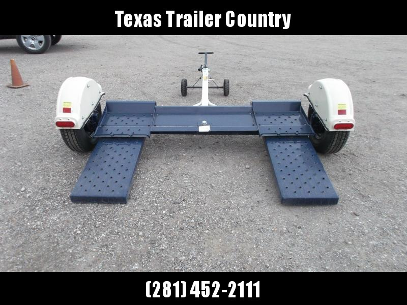 """2021 Master Tow 80"""" THD Tow Dolly / Electric Brakes / Mag Wheels / Wheel Net Straps"""