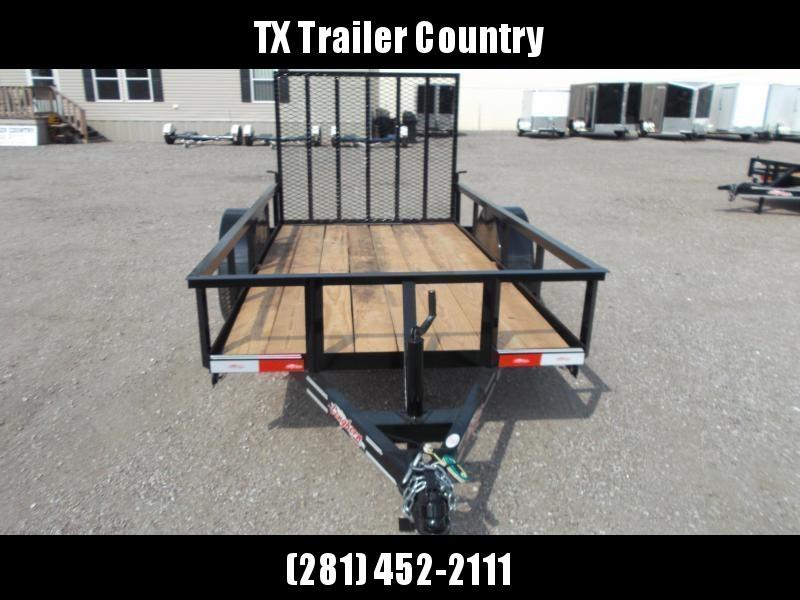 2021 Longhorn Trailers 5x10 Utility Trailer w/ 4ft Heavy Duty Ramp Gate