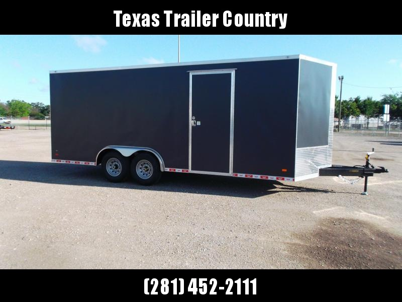 2021 Covered Wagon Trailers 8.5x20 Tandem Axle Cargo / Enclosed Trailer / XXL Package / 7ft Interior Height / 7000# Torsion Axles / Heavy Duty Ramp / .030 Exterior Skin / Semi-Screwless Exterior / Gray Powder Coated Skin