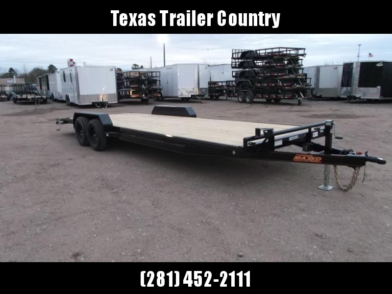 2021 Maxxd Trailers 83X24 10K C5X Car Hauler / Racing Trailer / Flatbed Trailer / Powder Coated / 5200# Axles / LEDs