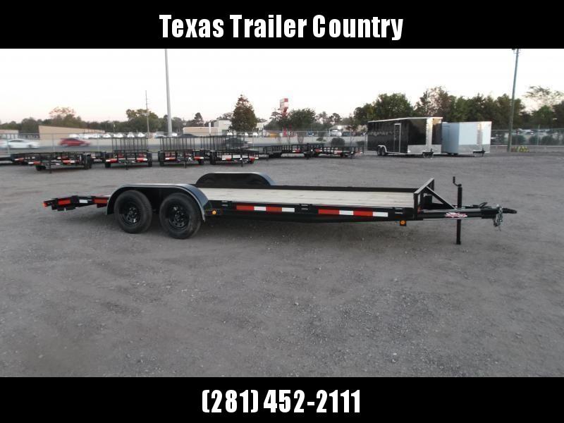 2021 Longhorn Trailers 83x20 7K Car Hauler / Racing Trailer / 2ft Dovetail / 5ft Ramps / Brakes