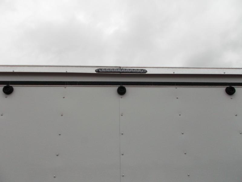 SUPER SPECIAL - 2020 Lark 8.5x20 Tandem Axle Cargo Trailer / Car Hauler / 5200# Axles / Heavy Duty Ramp / LEDs