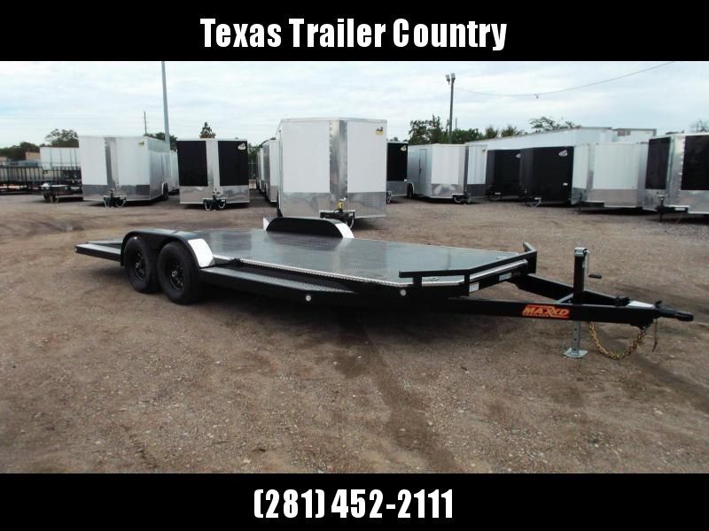 2021 Maxxd 83X20 10K N6X Steel Deck Car Hauler / Racing Trailer / 5200# Axles / Powder Coated / All Tubing Frame / LEDs