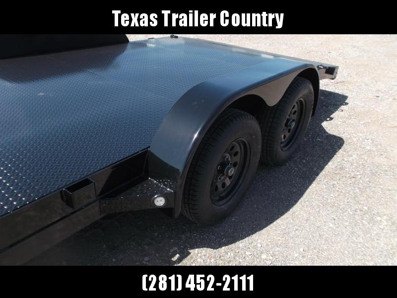 2021 Maxxd 83x18 Steel Deck Car Hauler / Racing Trailer / Powder Coated / 5ft Ramps / 2ft Dovetail / Radial Tires / D-Rings