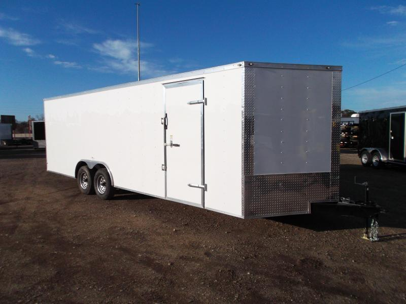 2021 TX Select 8.5x24 Tandem Axle Cargo Trailer / Enclosed Trailer / Car Hauler / 5200# Axles / Ramp / LEDs
