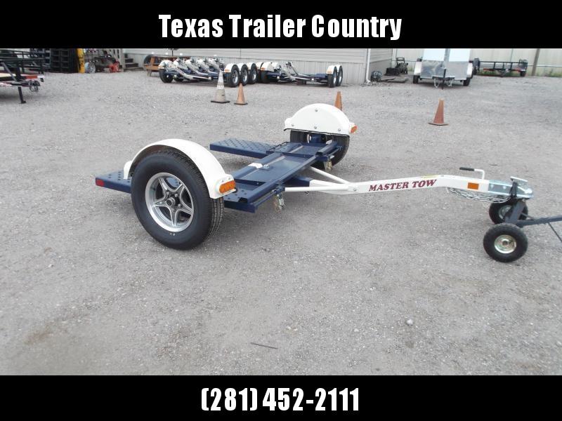 """2021 Master Tow 80"""" THD Tow Dolly / No Brakes / Mag Wheels / Wheel Straps"""