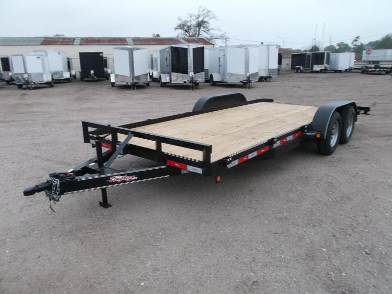 2021 Longhorn Trailers 83x18 7K Car Hauler Trailer / Race Car Trailer / 2ft Dovetail / 5ft Ramps / Brakes