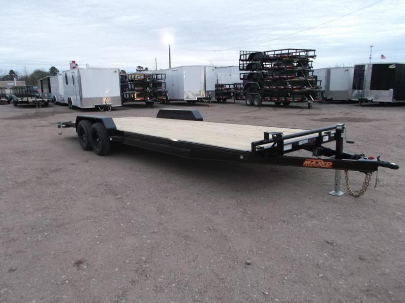 2021 Maxxd 83X20 10K Car Hauler / Race Car Trailer / Flatbed Trailer / Equipment Trailer / Powder Coated / 5200# Axles / LEDs