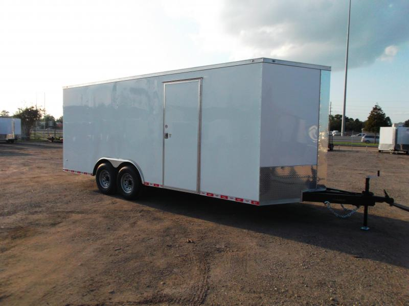 2021 Covered Wagon Trailers 8.5x20 Tandem Axle Cargo / Enclosed Trailer / XXL Package / 7ft Interior Height / 7000# Torsion Axles / Ramp / LEDs