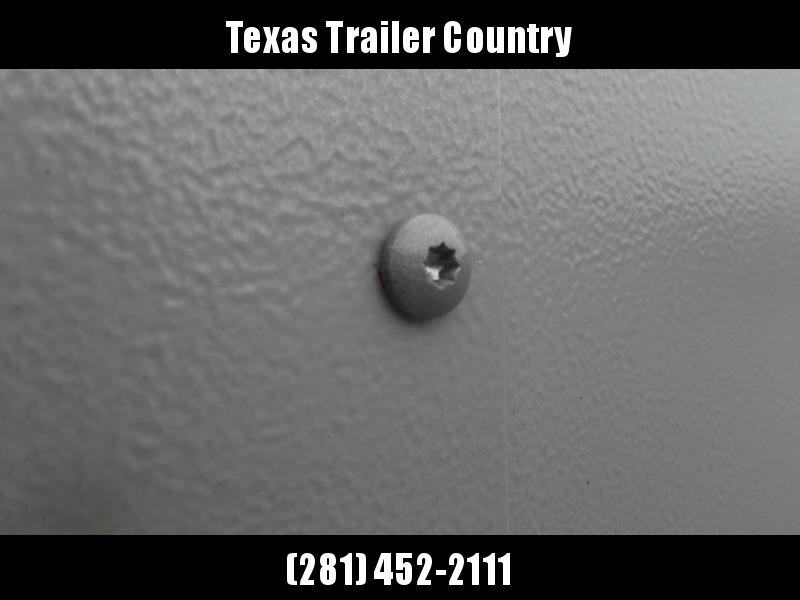 "2021 Covered Wagon Trailers 6x12 Single Axle Cargo / Enclosed Trailer / Ramp / RV Door / 6'6"" Interior / LEDs / Semi-Screwless Exterior / Silver Powder Coated Skin"