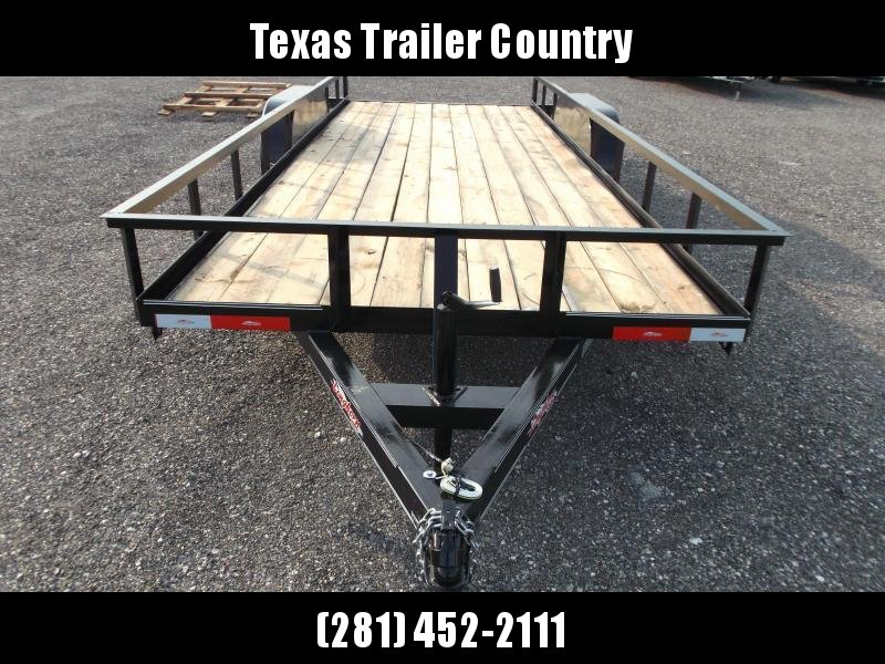 2021 Longhorn Trailers 18ft Utility Trailer w/ 5ft Slide Out Ramps