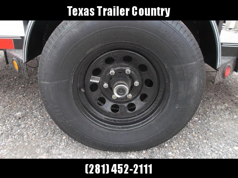 2021 Longhorn Trailers 83x10 Utility Trailer w/ 5200# Axle / Electric Brakes / Steel Deck / Stabilizer Jacks