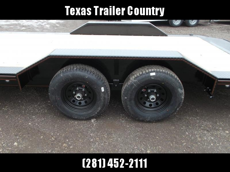 2021 Maxxd 102x20 H5X 10K Car Hauler / Racing Trailer / Flatbed / Drive Over Fenders / 5200# Axles / Powder Coated / LEDs