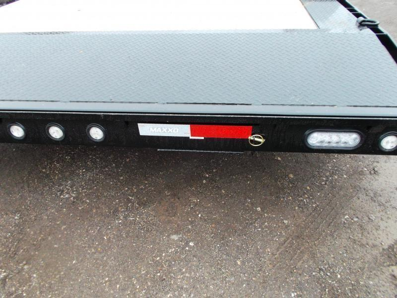 "2021 Maxxd 102""x20' 10K Car Hauler / Racing Trailer / Flatbed / Drive Over Fenders / 5200# Axles / Powder Coated / LEDs"