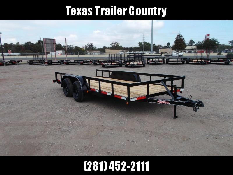 2021 Longhorn Trailers 16ft Utility Trailer / 5ft Slide Out Ramps