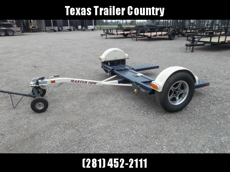 "2021 Master Tow 80"" THD Tow Dolly / Electric Brakes / Mag Wheels / Wheel Net Straps"