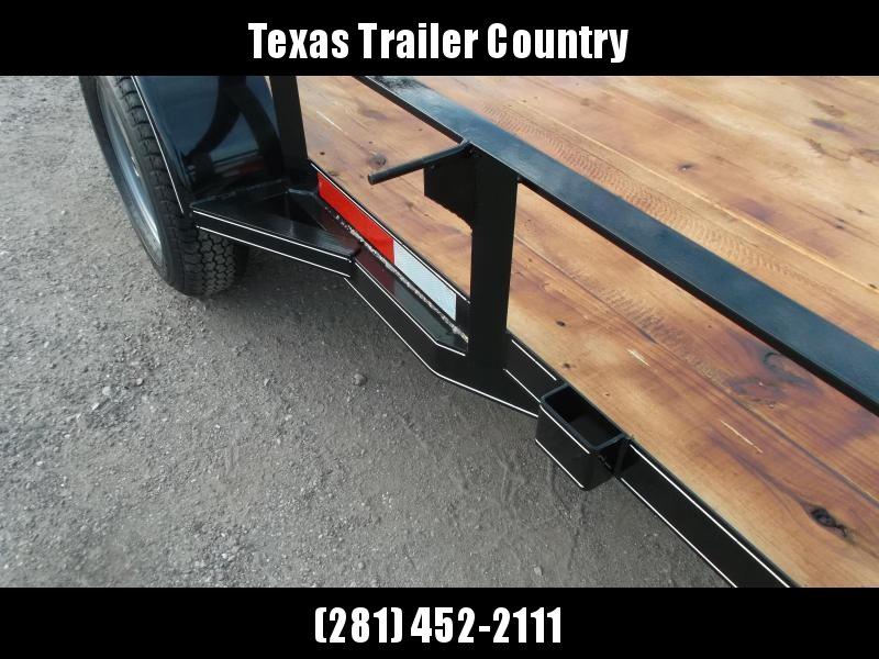 2021 TTC 5x10 Utility Trailer / Wrap Tongue / 4ft Ramp Gate