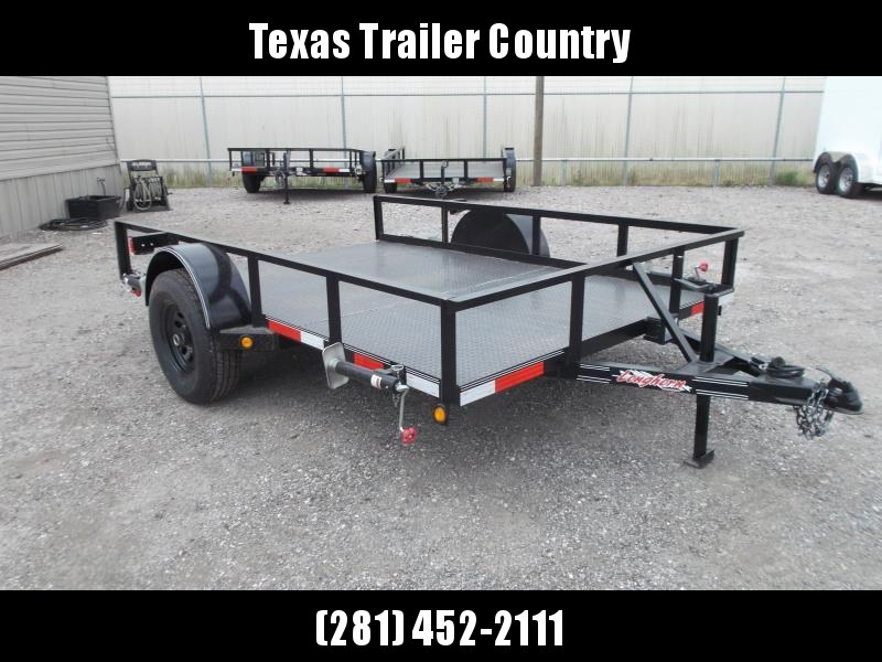 2021 Longhorn Trailers 83x10 Utility Trailer w/ 5200# Axle / Electric Brakes / Steel Deck / Stabilizer Jacks