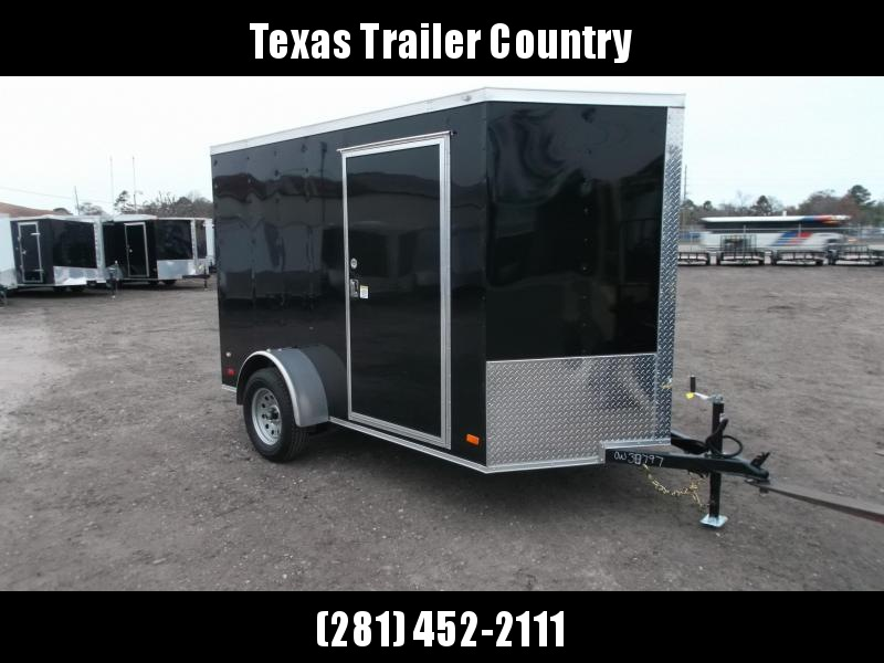 2021 Covered Wagon Trailers 6x10 Motorcycle Trailer / Cargo Trailer / Ramp / D-rings