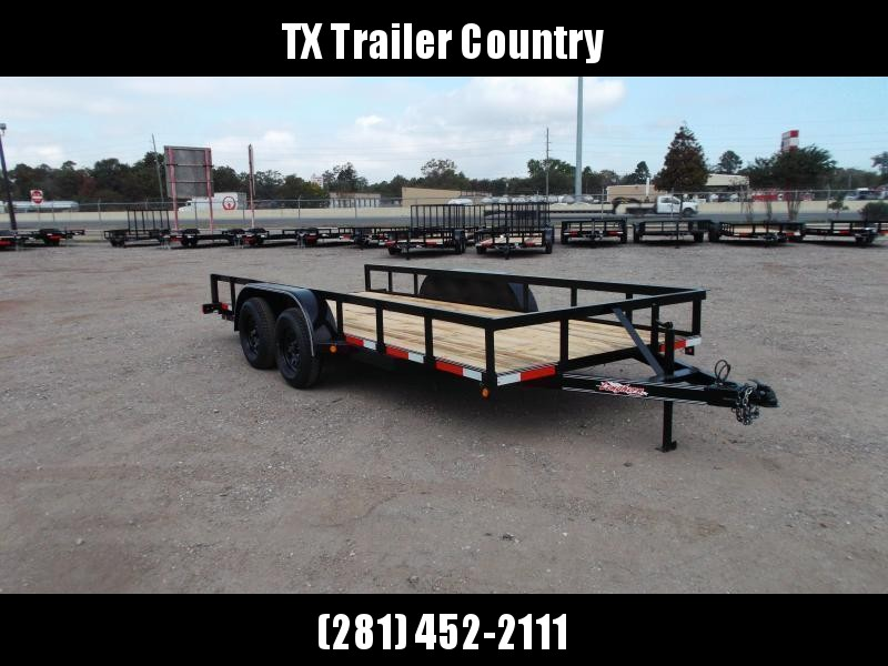 2022 Longhorn Trailers 16ft Utility Trailer / 5ft Slide Out Ramps