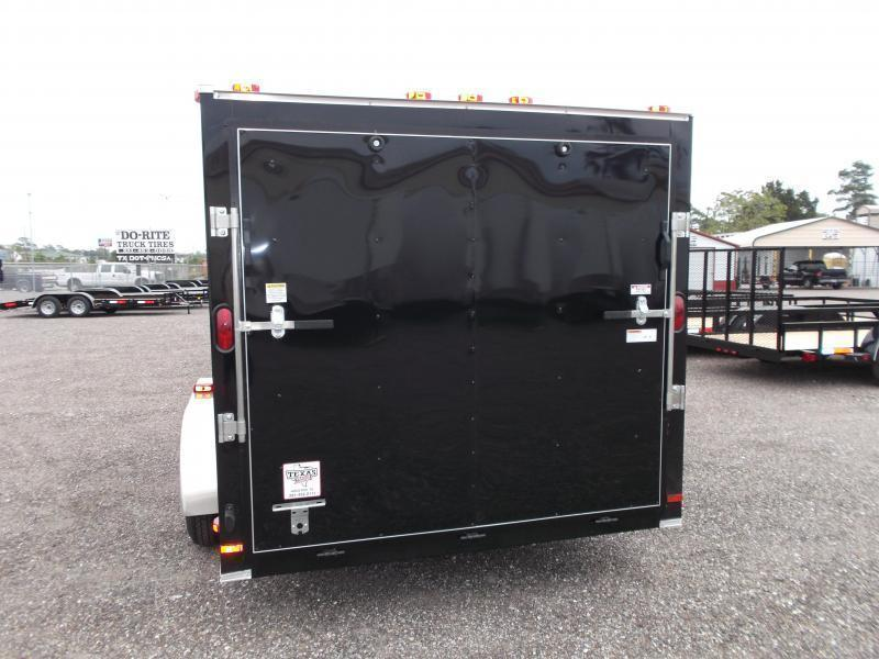 2021 Covered Wagon Trailers 7x14 Tandem Axle Cargo Trailer / Enclosed Trailer / Ramp / RV Side Door