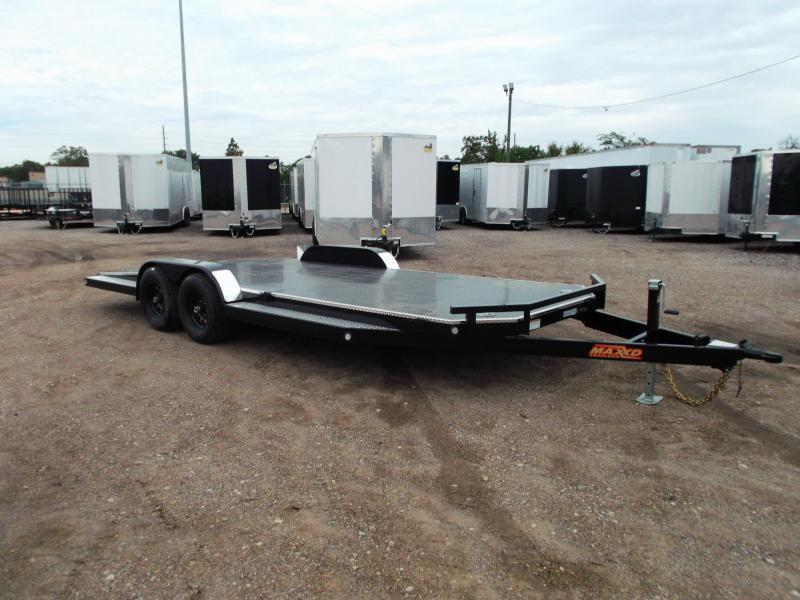 2020 Maxxd 83X20 10K N6X Steel Deck Car Hauler / Racing Trailer / 5200# Axles / Powder Coated / All Tubing Frame / LEDs