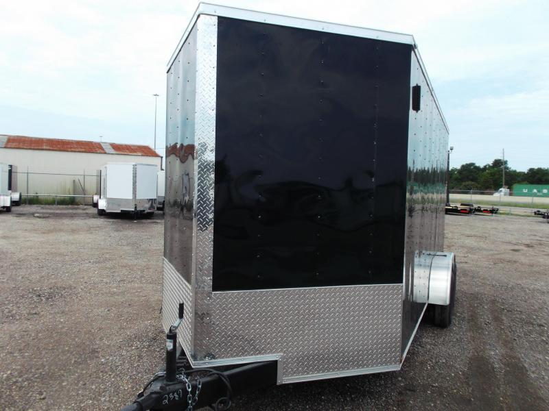 2021 Prime 7x16 Tandem Axle Cargo Trailer / Enclosed Trailer / 7ft Interior Height / Ramp / Side Door / LEDs